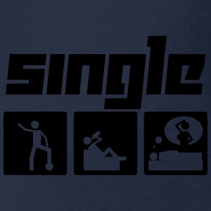 Single (Vektor) - Baby Bio-Kurzarm-Body