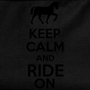 Keep Calm And Ride On Sportbekleidung - Kinder Rucksack