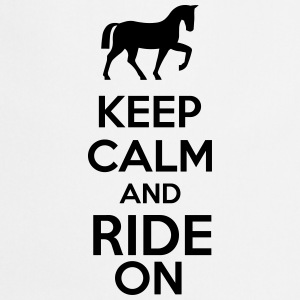 Keep Calm And Ride On Kubki i dodatki - Fartuch kuchenny