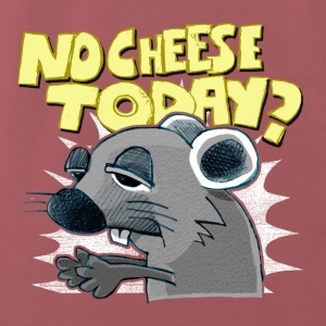 no cheese today? Accessoires - Männer Premium T-Shirt