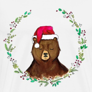Salt & pepper christmas bear Hoodies & Sweatshirts - Men's Premium T-Shirt