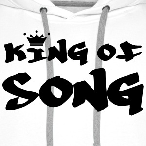 King of Song Tee shirts - Sweat-shirt à capuche Premium pour hommes