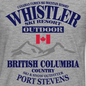 canada - whistler - apres - ski Tee shirts - T-shirt manches longues Premium Homme