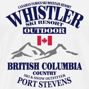 canada - whistler - apres - ski Hoodies & Sweatshirts - Men's Premium T-Shirt