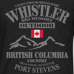 Whistler Ski Resort - Canada Tee shirts - T-shirt manches longues Premium Homme