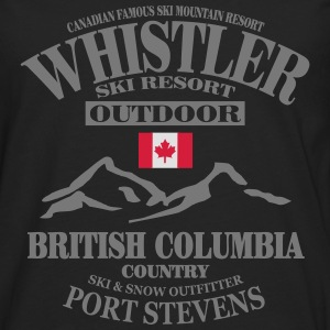 Whistler Ski Resort - Canada Hoodies & Sweatshirts - Men's Premium Longsleeve Shirt