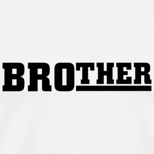 Brother Topper - Premium T-skjorte for menn