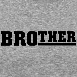 Brother Shirts met lange mouwen - Mannen Premium T-shirt