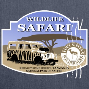 Landrover - Jeep -  Safari - Africa T-Shirts - Shoulder Bag made from recycled material