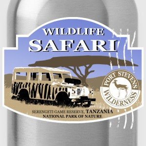 Landrover - Jeep -  Safari - Africa T-Shirts - Water Bottle