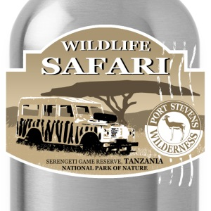 Landrover - Jeep -  Safari - Africa Magliette - Borraccia