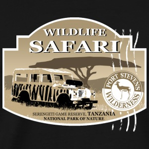 Landrover - Jeep -  Safari - Africa Long Sleeve Shirts - Men's Premium T-Shirt