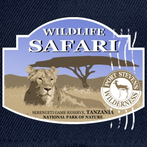 Lion -  Safari - Africa Long Sleeve Shirts - Snapback Cap