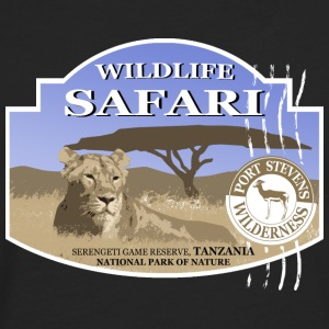 Lion -  Safari - Africa T-Shirts - Men's Premium Longsleeve Shirt