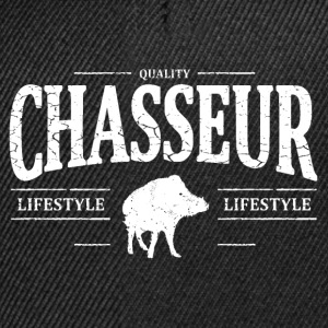 Chasseur Tee shirts - Casquette snapback