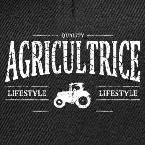Agricultrice Tee shirts - Casquette snapback