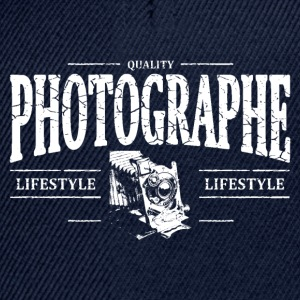 Photographe Sweat-shirts - Casquette snapback