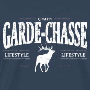 Garde-Chasse Manches longues - T-shirt Premium Homme