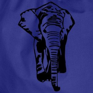 Elefant - Elephant - Safari - Afrika T-Shirts - Drawstring Bag