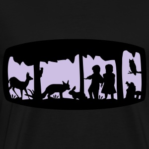 Enchanted Forest - Men's Premium T-Shirt