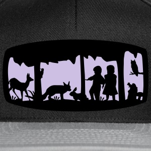 Enchanted Forest - Snapback Cap