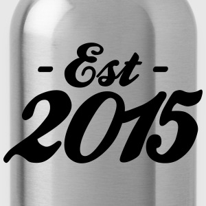 established 2015 geburt Accessoires - Trinkflasche