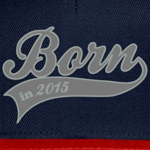 born in 2015 baby fødsel Accessories - Snapback Cap
