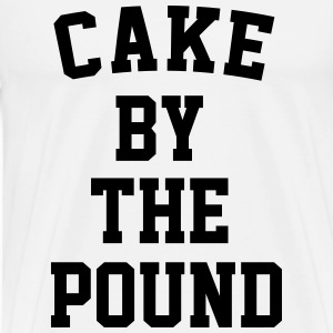 Cake By the Pound - Men's Premium T-Shirt