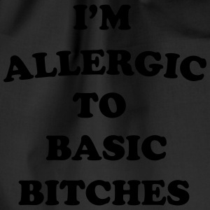 I'm allergic to basic bitches T-skjorter - Gymbag