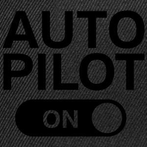 Auto Pilot (on) T-Shirts - Snapback Cap