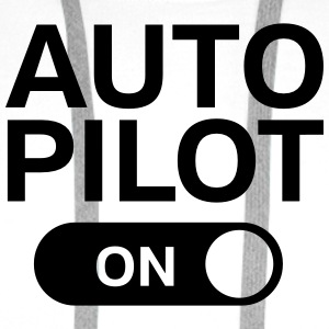 Auto Pilot (on) Singlets - Premium hettegenser for menn