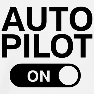 Auto Pilot (on) Tank Tops - Men's Premium T-Shirt