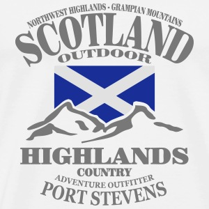 Scotland - Highlands Manches longues - T-shirt Premium Homme