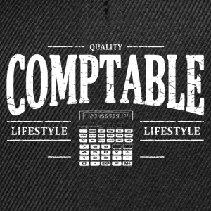 Comptable Tee shirts - Casquette snapback