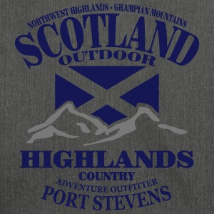 Scotland - Highlands Sweaters - Schoudertas van gerecycled materiaal