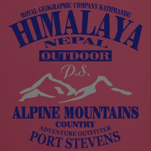 Himalaya  - Alpine Mountains T-skjorter - Kokkeforkle