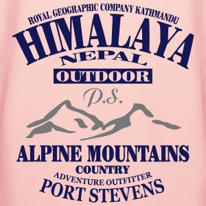 Himalaya  - Alpine Mountains Tee shirts - Sweat-shirt à capuche Premium pour femmes