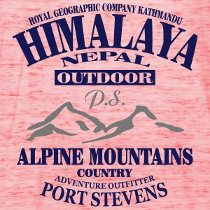 Himalaya  - Alpine Mountains T-skjorter - Singlet for kvinner fra Bella