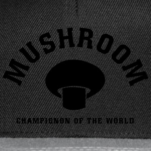 Mushrooms of the World T-Shirts - Snapback Cap