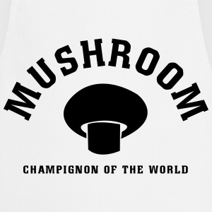 Mushrooms of the World T-Shirts - Cooking Apron