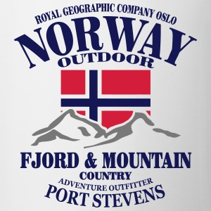 Norway - Fjord & Mountain Tee shirts - Tasse