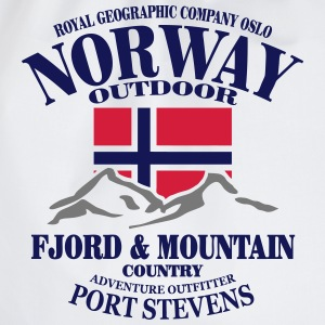 Norway - Fjord & Mountain T-skjorter - Gymbag