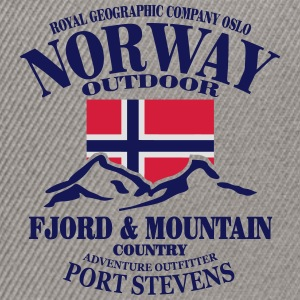 Norway - Fjord & Mountain Tröjor - Snapbackkeps