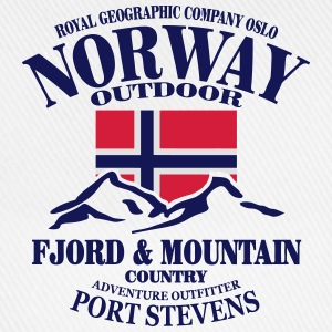 Norway - Fjord & Mountain Tops - Baseball Cap