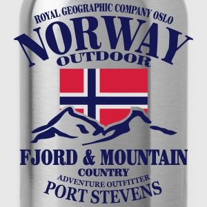 Norway - Fjord & Mountain Tops - Water Bottle