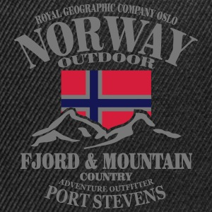 Norway - Fjord & Mountain Tops - Snapback Cap