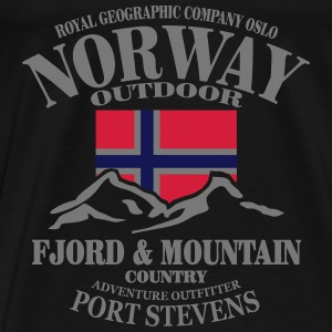 Norway - Fjord & Mountain Sports wear - Men's Premium T-Shirt