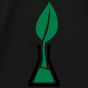 Test tube leaf Bags & Backpacks - Men's Premium T-Shirt