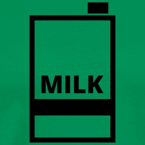 Milk  Aprons - Men's Premium T-Shirt