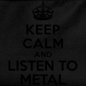 Keep calm and listen to Metal Sweat-shirts - Sac à dos Enfant